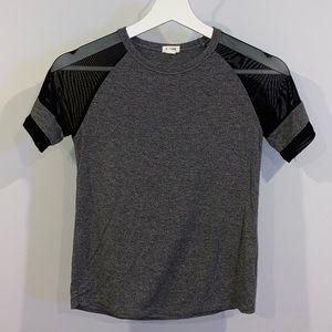 garage salt and pepper grey t-shirt size XS